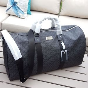 NWT Michael Kors Travel duffle Bag Black carry-on